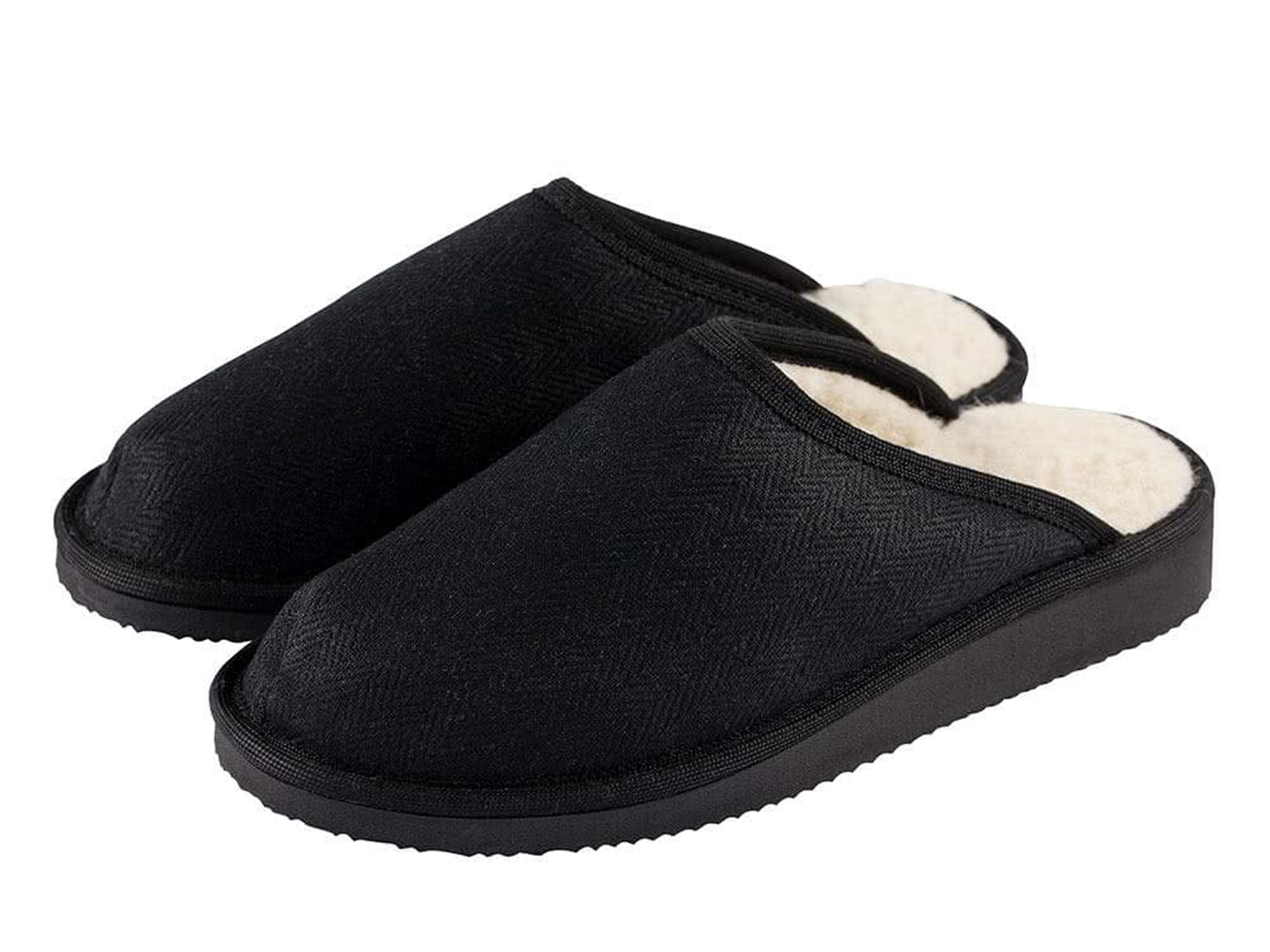 Hemp House Shoes, black