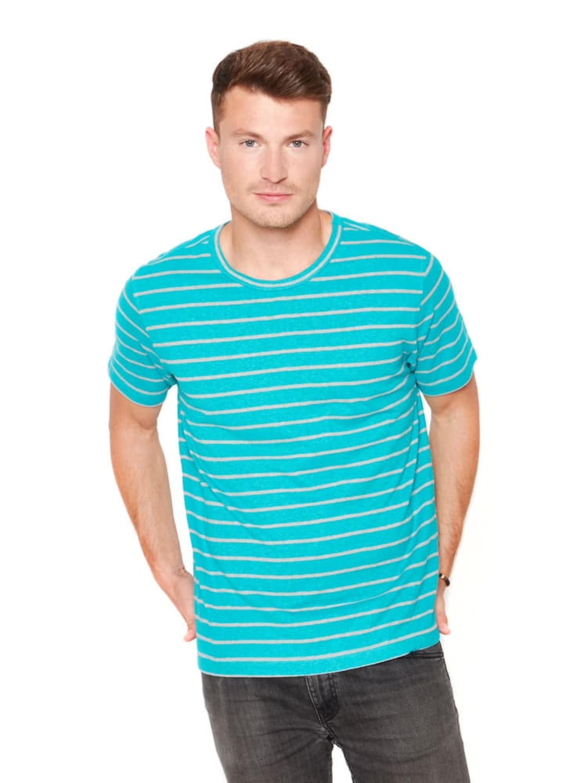 Maritimes Herren T-Shirt in frischen Farben