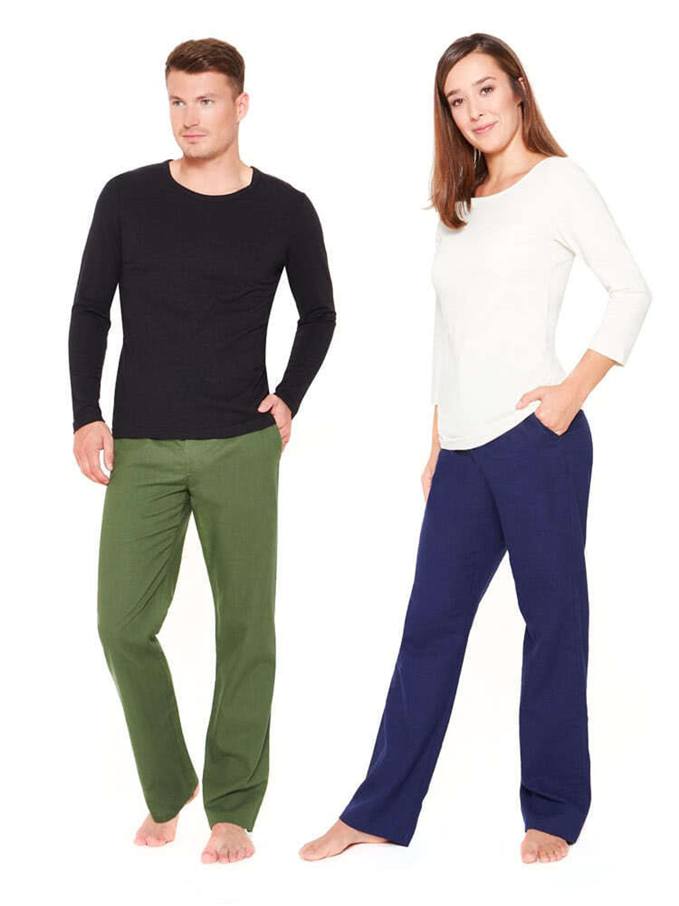 Chino Pants for women and men (hemp / organic cotton)