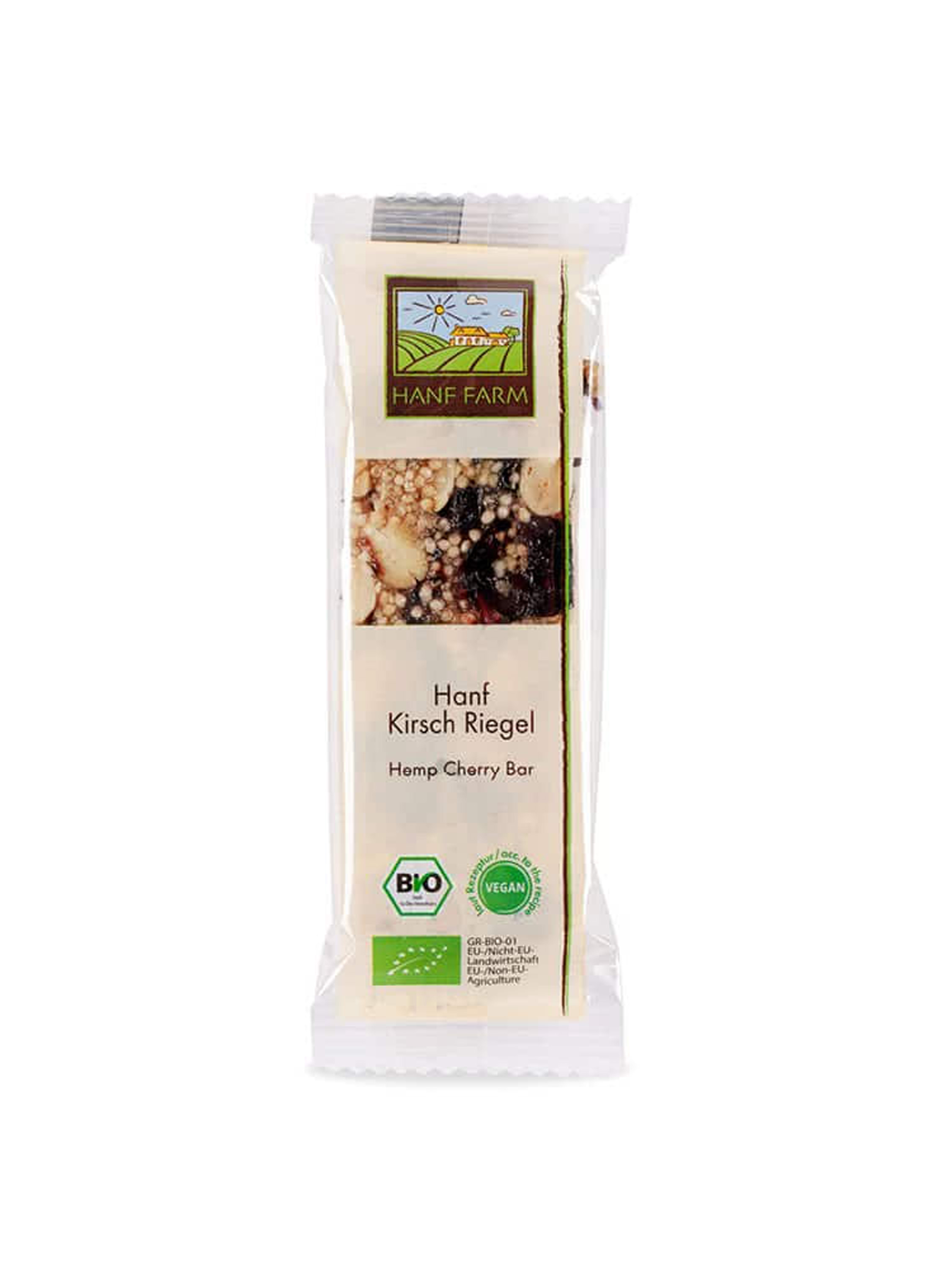 Organic Hemp Cherry Bars - 25g