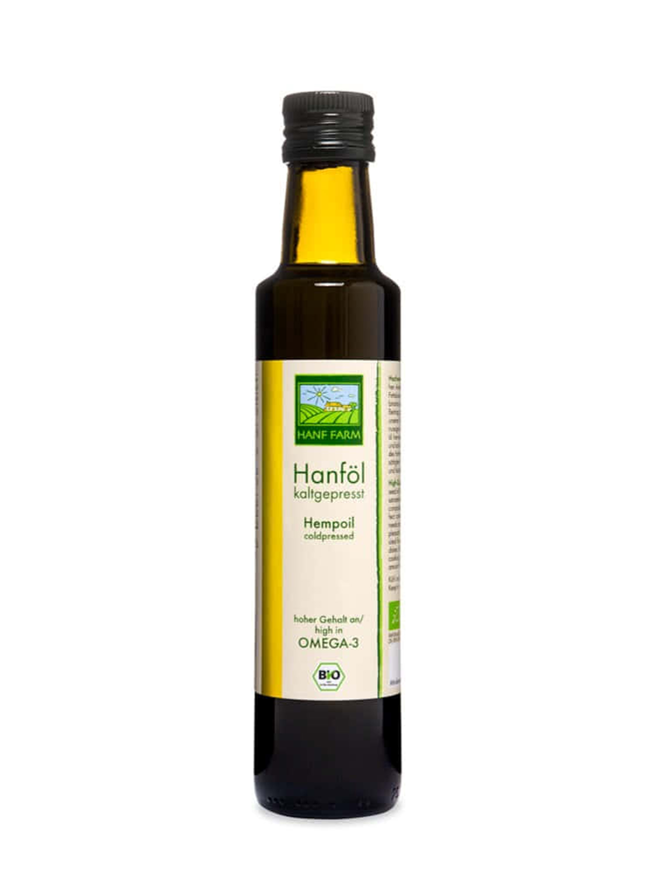 Organic Hemp Oil, cold-pressed  500 ml