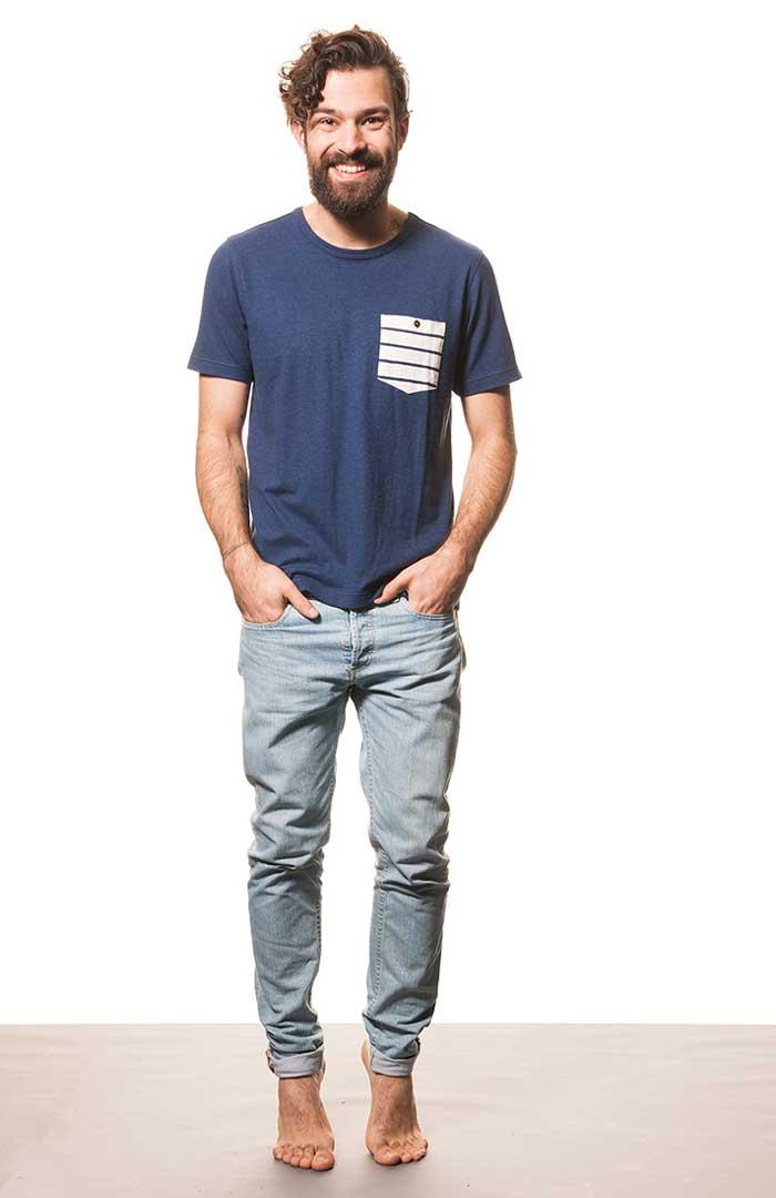 leichtes t shirt mit brusttasche 21111 t shirts. Black Bedroom Furniture Sets. Home Design Ideas