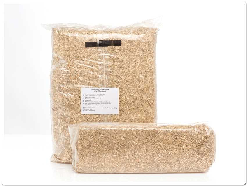 Hemp Bedding (Shredded) 30 l Bale